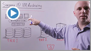 Simpana for VM Archival and Retirement