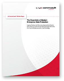 Whitepaper - Time to Replace Traditional Dying Backup Methods