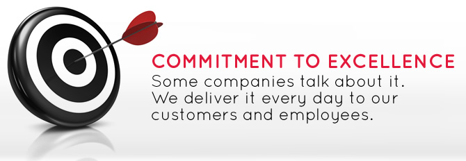 CommVault Core Values - Committment to Excellence.