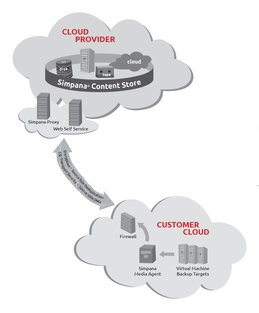 Cloud Provider and Customer Cloud