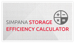 Calculate Your Savings with the Simpana Storage Efficiency Calculator