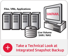 Integrated Snapshot Backup