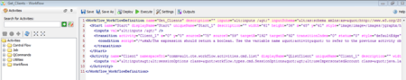 XML View of a WorkFlow
