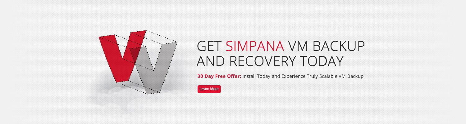 Simpana for VM Backup, Recovery and Cloud Management free trial