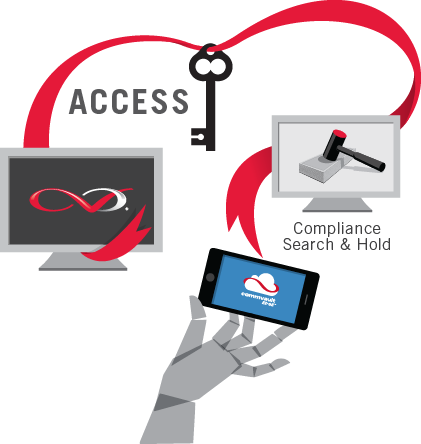 CommVault Endpoint Access Infographic