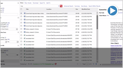CommVault Edge File Sharing video